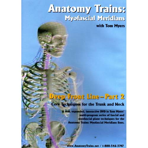 Anatomy Trains Vol 7: Deep Front Line – Upper Portion DVD