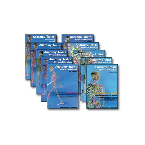 Anatomy Trains 10 DVD Set (Vols. 1 to 10)