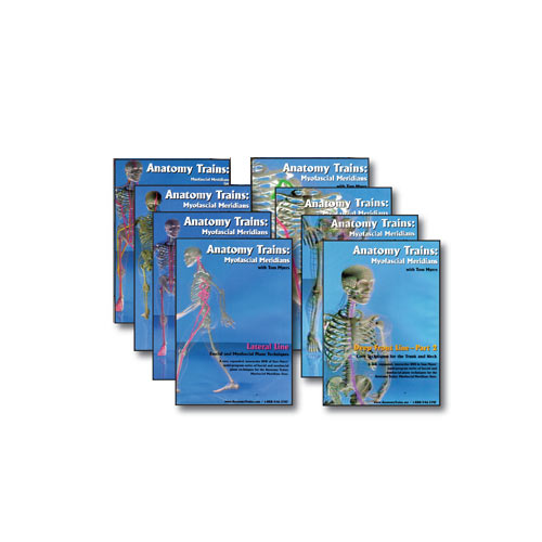 Anatomy Trains 8 DVD Set (Vols. 3 to 10 – Technique)