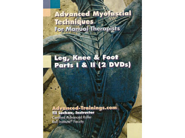 Leg, Knee & Foot  2 DVD Set with Notebook