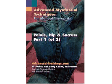 Pelvis, Hip & Sacrum  2 DVD Set with Notebook