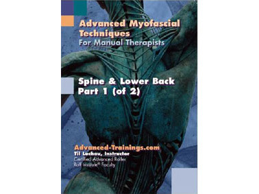 Spine, Ribs & Low Back – 2 DVD Set with Notebook