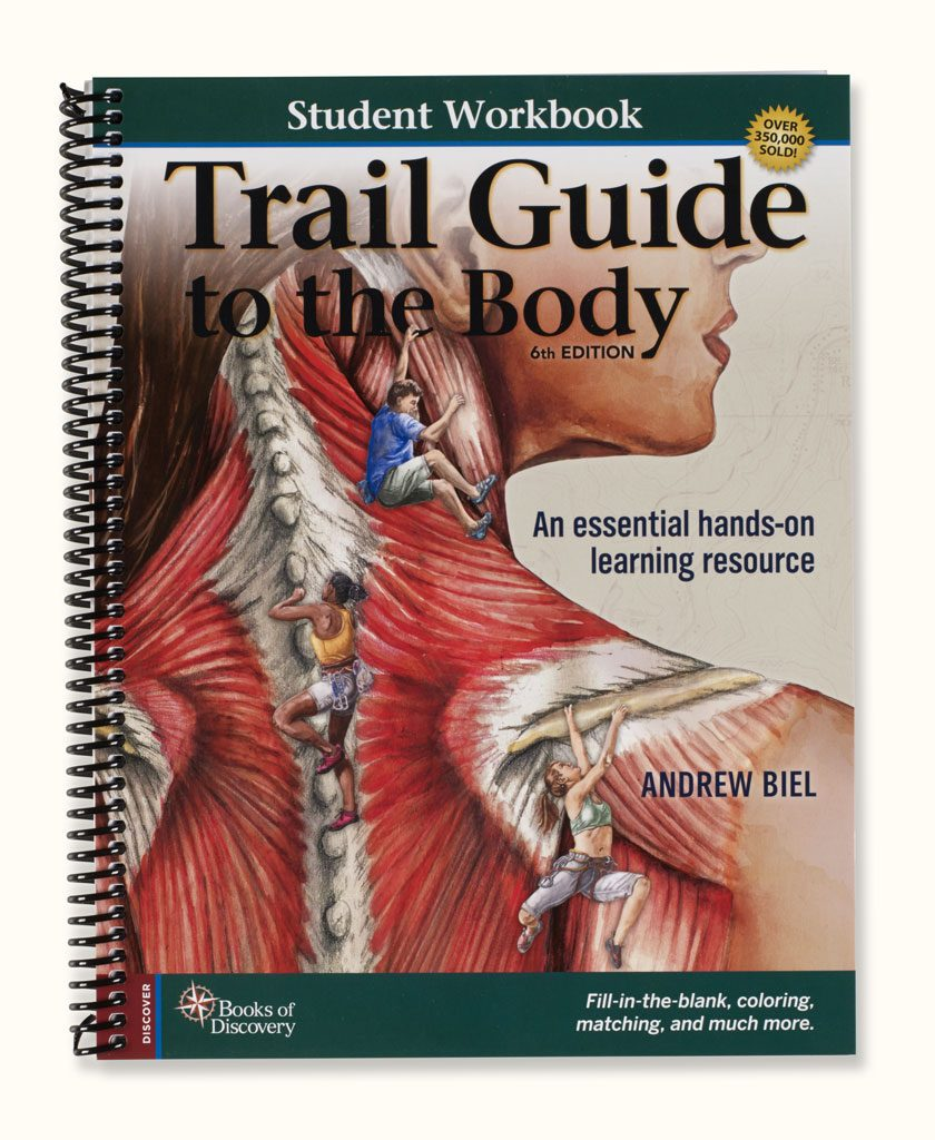 **NEW**  Trail Guide to the Body Student Workbook 6th Edition